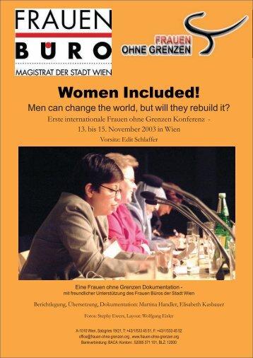 Women Included! - Frauen ohne Grenzen