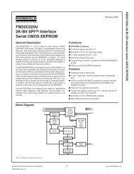 FM25C020U 2K-Bit SPI Interface Serial CMOS EEPROM - Rockby