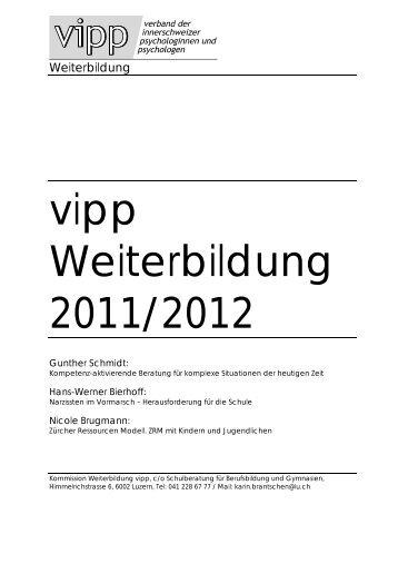 vipp Weiterbildung 2011/2012