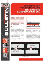 The Effects of Temperature on Engine Lubricating Oil