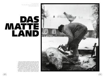 Text: Florian Rainer Fotos: Rimaldas Viksraitis /Anzenberger Gallery ...