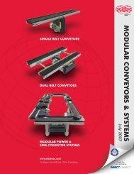 MODULAR CONVEY ORS & SYSTEMS - Pneumatic Technology, Inc