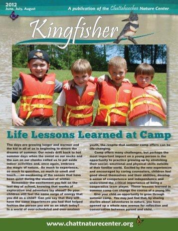 Kingfisher June, July, August 2012 - Chattahoochee Nature Center