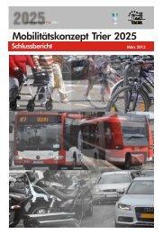 Mobilitätskonzept Trier 2025 Textband - Stadt Trier