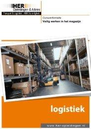 Logistiek – Veilig Werken In Het Magazijn - HER Opleidingen
