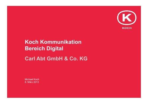 Agentur - Koch Kommunikation