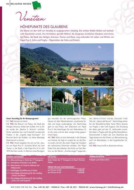 Italien Spezial 2012