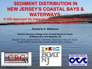 sediment distribution in new jersey's coastal bays ... - Stockton College