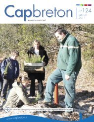 Bulletin N°124 (janvier 2011) - Ville de Capbreton