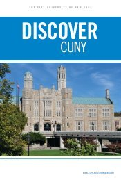 Discover CUNY