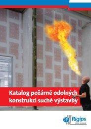 Katalog požárně odolných konstrukcí suché výstavby