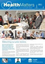 SLHN February 2013 - Sydney Local Health District