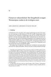 Fietsen en verkeersbeleid - Nederlandsch Economisch-Historisch ...