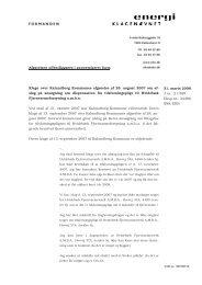 [Klager] ctr. Kalundborg Kommune Vedr.afslag på ansøgning om ...