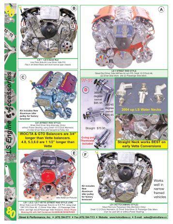 ls 9 ls engine accessories street performance