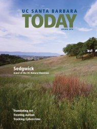 sedgwick - Institutional Advancement - University of California ...