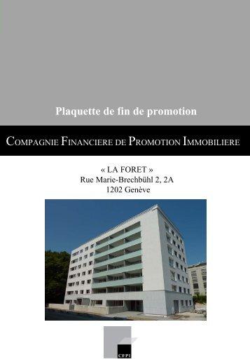 BLC SARL - PLAQUETTE COMMERCIALE - CFPI