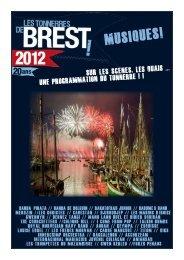 La programmation en détail (PDF) - Sept jours à Brest