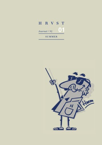 HRVST Journal | SUMMER 01