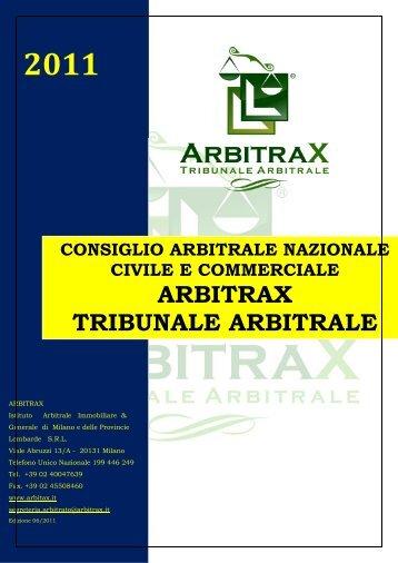 vice-presidente nazionale - arbitrax.it