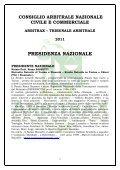 vice-presidente nazionale - arbitrax.it - Page 2
