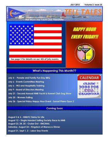 July 3 - Half Moon Bay Yacht Club