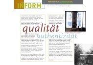 rz_inform qualität - Beratungsstelle für Formgebung
