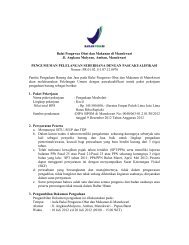 Balai Pengawas Obat dan Makanan di Manokwari Jl. Angkasa ...