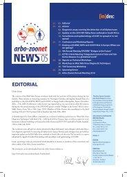 [in]dex: NEWS05 - Arbo-Zoonet
