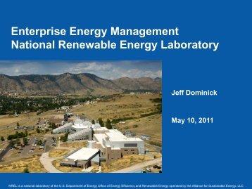 Enterprise Energy Management National Renewable Energy ... - E2S2