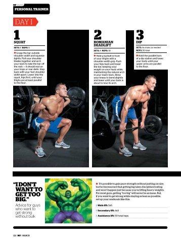 DIY Workout - Men's Fitness Magazine