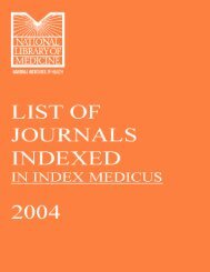 Journal List (Index Medicus) - Khon Kaen University Medical Library