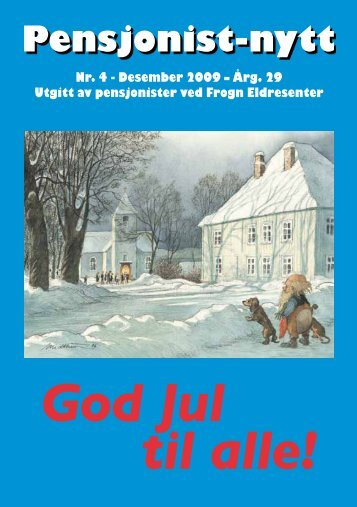 God Jul til alle! - Pensjonist-nytt