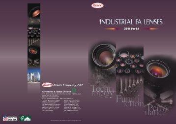 Kowa Industrial FA Product Catalog (14.8 MB-PDF ... - Bock Optronics