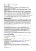 Samenvatting Dossier Arbodienstverlening Wat ... - Arbokennisnet - Page 3