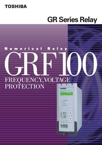 GRF100 6637-1.4 (PDF:1107kb) - Toshiba