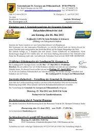 Vorstellung der Gemeinde St. Georgen a. F. - Handenberg - Land ...