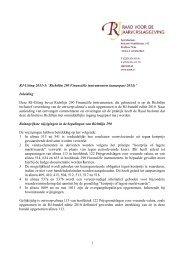 Richtlijn 290 Financiële instrumenten (aangepast 2011)