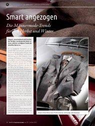 Smart angezogen – Männermode Herbst/Winter 2012/13 - CutForYou