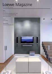 Loewe Magazine - TV