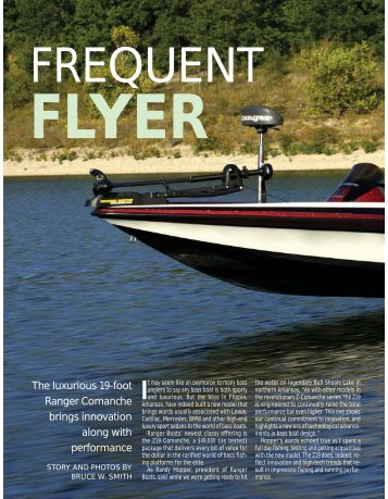 The luxurious 19-foot Ranger Comanche brings ... - Ranger Boats