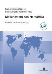 Mellanöstern och Nordafrika - Svenska institutet