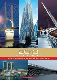 CALL FOR ENTRIES - American Council of Engineering Companies