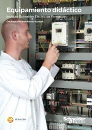 Equipamiento didáctico - Schneider Electric