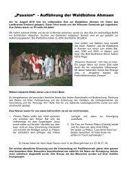 3 - Magazin - Evangelisch-altreformierte Kirchengemeinde Uelsen