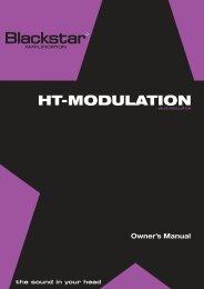 HT-MODULATION - Blackstar Amplification