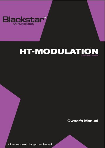 HT-MODULATION - Blackstar Amplification