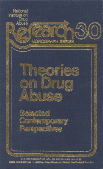 Theories on Drug Abuse - Scottish Addiction Studies On-line Library