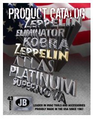 MADE IN USA - JB Industries, Inc.