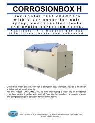 Brochure for Corrosionbox - ATI Corp